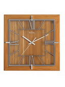 12in Bulova Wall Clock