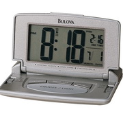 Bulova Travel Alarm Table Top Quartz Alarm Clock - GTB6314