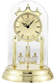 Bulova Metal Base Brass Anniversary Clock - GTB6432