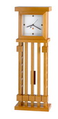 Frank Lloyd Wright Solid Wood Quartz Wall Clock - GTB6492