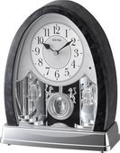 Rhythm Crystal Musical Table Clock - GTM2552