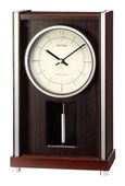 Rhythm Deluxe Wooden Case Musical Mantel Clock - GTM2290