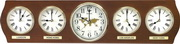 Rhythm Wooden Wall Clock - GTM2422