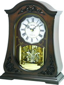 Rhythm Wooden Musical Mantel Clock - GTM2456