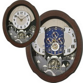 Rhythm Musical Wall Clock Quartz - GTM2198