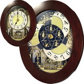 Rhythm Musical Wall Clock Quartz - GTM2202