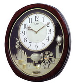 Rhythm Deluxe Musical Wall Clock Quartz - GTM2222