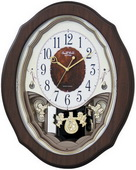 Rhythm Deluxe Musical Wall Clock Quartz - GTM2264