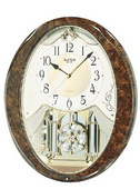 Rhythm Musical Wall Clock - GTM2272