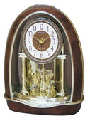 Rhythm Deluxe Musical Mantel Clock Quartz - GTM2282