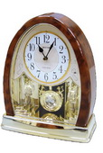 Rhythm Deluxe Musical Table Clock - GTM2288