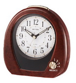 Rhythm Musical Table Alarm Clock - GTM2292