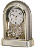 Rhythm Crystal Mantel Clock - GTM2312