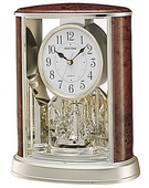 Rhythm Wood Grain Mantel Clock - GTM2316