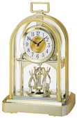 Rhythm Contemporary Carriage Mantel Clock - GTM2320