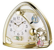 Rhythm Sweet Bears Mantel Clock - GTM2322