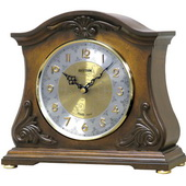 Rhythm Deluxe Chiming Musical Solid Alder Wood Clock - GTM2494