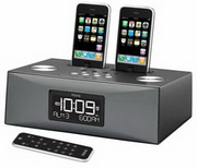 WTD1040 Dual Dock Triple Alarm Clock Radio