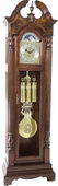 German Hermle Triple chime Grandfather Clock in Cherry Finish - JHE2535