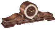 German Hermle Deluxe Black Forest Chiming Keywound Mantel Clock Mantle Clock - JHE1257