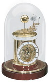 German Hermle Deluxe Black Forest Astrolabium Quartz Mantel Clock - JHE1479