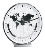 German Hermle Black Forest World Time Clock Quartz - JHE1488