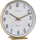 Hermle Brass Quartz Mantel/Desk Clock - JHE1656