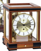 German Hermle Deluxe Classical Collection Chiming Mantel Clock Cherry Finish - JHE1677