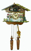 German Hermle Deluxe Cuckoo Clock Quartz - JHE1848