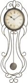 Hermle Wrought Iron Wall Clock Quartz - JHE1857