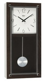 Hermle Black Oak Veneer Wall Clock Quartz - JHE1863