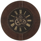 Hermle Oak Wall Clock Quartz - JHE1872