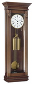 German Hermle Deluxe Black Forest Chiming Keywound Wall Clock Antique Walnut - JHE2118