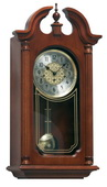 German Hermle Black Forest Chiming Keywound Wall Clock with Pendulum - JHE2253