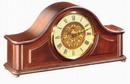 German Hermle Black Forest Chiming Keywound Mahogany Mantel Clock - JHE1320