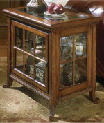 Elegant Plantation Cherry Chair Side Curio - KBT1267