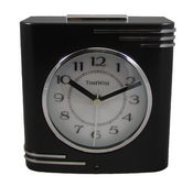 Timewise Black and Chrome Alarm Clock