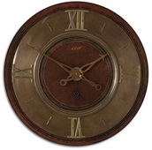 30in Lightly Distressed Wall Clock - LUT1028