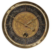 18in Designer Weathered Wall Clock - LUT1242
