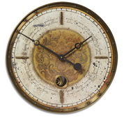 18in Designer Weathered Wall Clock - LUT1240