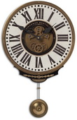 11in Designer Pendulum Wall clock  - LUT1218