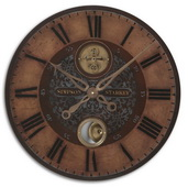 23in Designer Wall Clock  - LUT1192