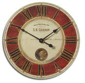 23in Designer Wall Clock  - LUT1260