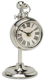 4in Aqua Pear Pocket Watch Table Clock  - LUT1318