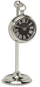 4in Aqua Pear Pocket Watch Table Clock  - LUT1316