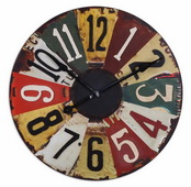 29in Designer Vintage Wall Clock - LUT1178