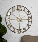 32.25in Designer Metal Wall Clock  - LUT1148