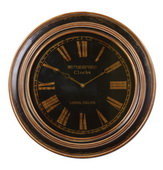31.5in Designer Distressed Wall Clock - LUT1110