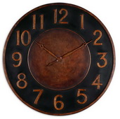 35.75in Designer Metal Wall Clock - LUT1104