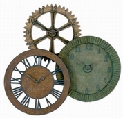 Designer Metal Wall Clock - LUT1088